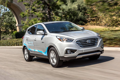 2017 Tucson Fuel Cell