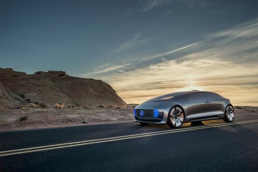 Daimler autonomous vehicle