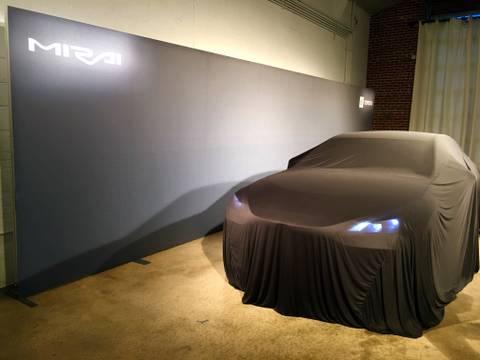 2021 Toyota Mirai FCEV hydrogen fuel cell vehicle