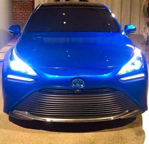 2021 Toyota Mirai hydrogen fuel cell vehicle