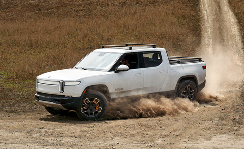 Rivian R1T all-electric pickup
