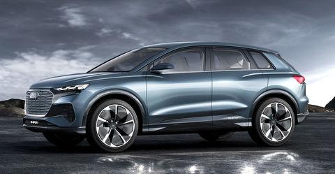 Audi Q4 E-Tron electric crossover