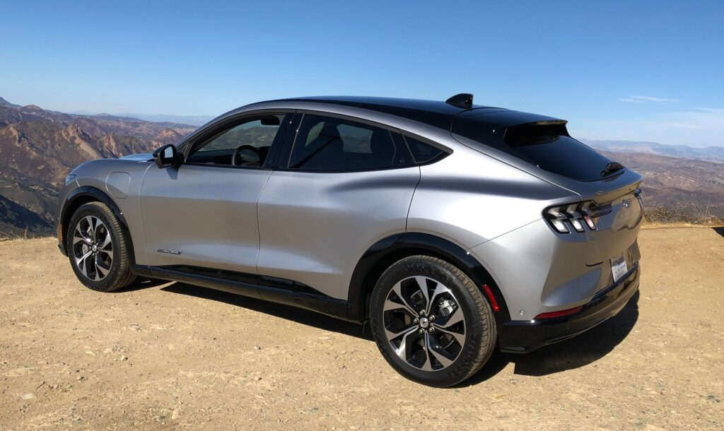 Ford Mustang Mach-E electric crossover