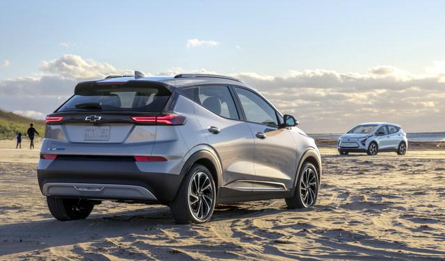 2022 Chevrolet Bolt EV & Bolt EUV