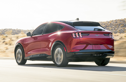2021 Ford Mustang Mach-E electric crossover