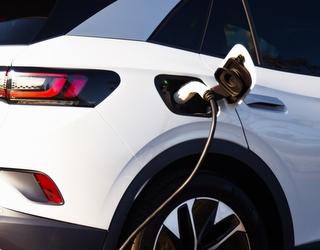VW ID4 charging