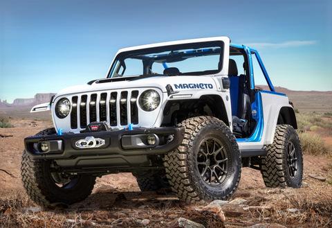 Jeep Magneto EV concept