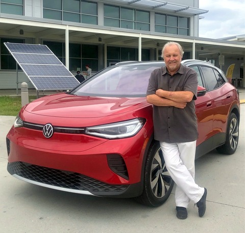 john Faulkner, 2021 Volkswagen ID4 AWD EV
