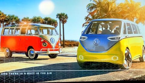 VW IDBuzz electric minibus